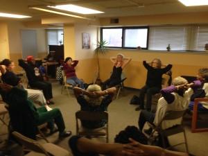outreach at senior's center